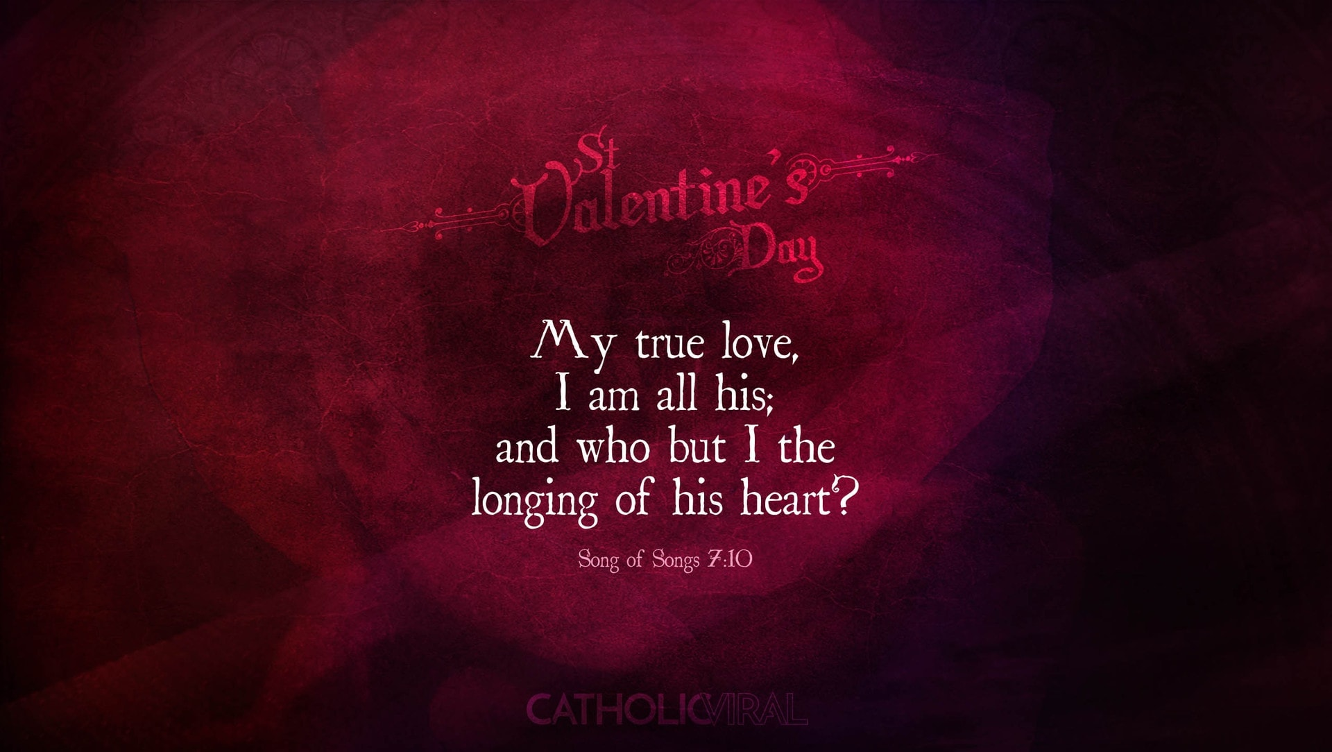 25 Valentines' Day Bible Verses on Love + 25 Free Wallpapers | Songs 7:10