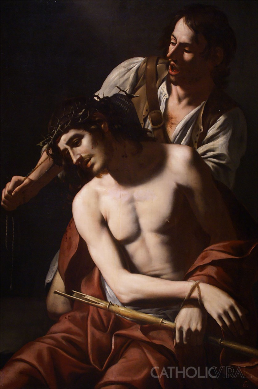 Crown of Thorns - Tommaso Salini - 54 Paintings of the Passion, Death and Resurrection of Jesus Christ