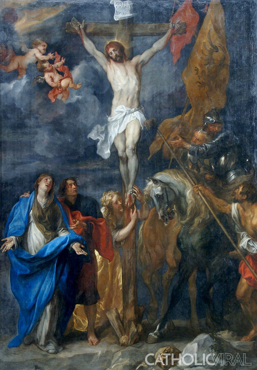 Crucifixion - Anthony van Dyck - 54 Paintings of the Passion, Death and Resurrection of Jesus Christ