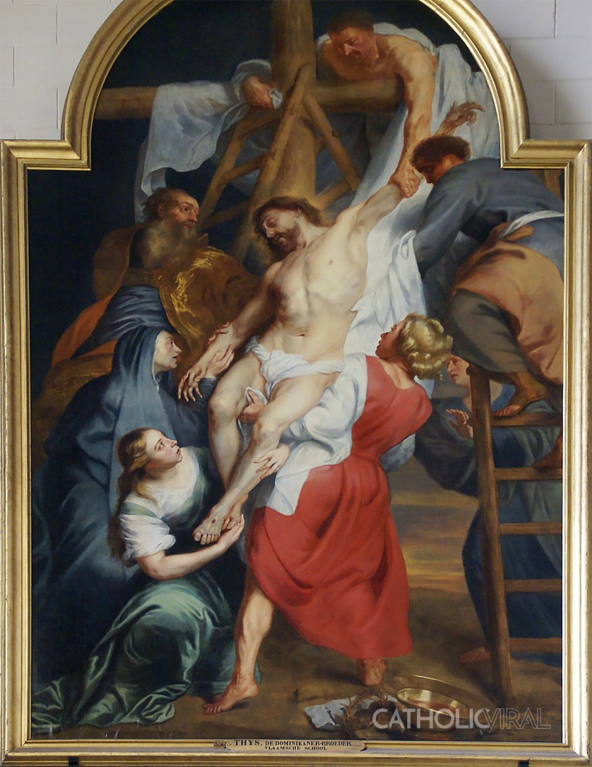 Descent from the Cross - 54 Paintings of the Passion, Death and Resurrection of Jesus Christ