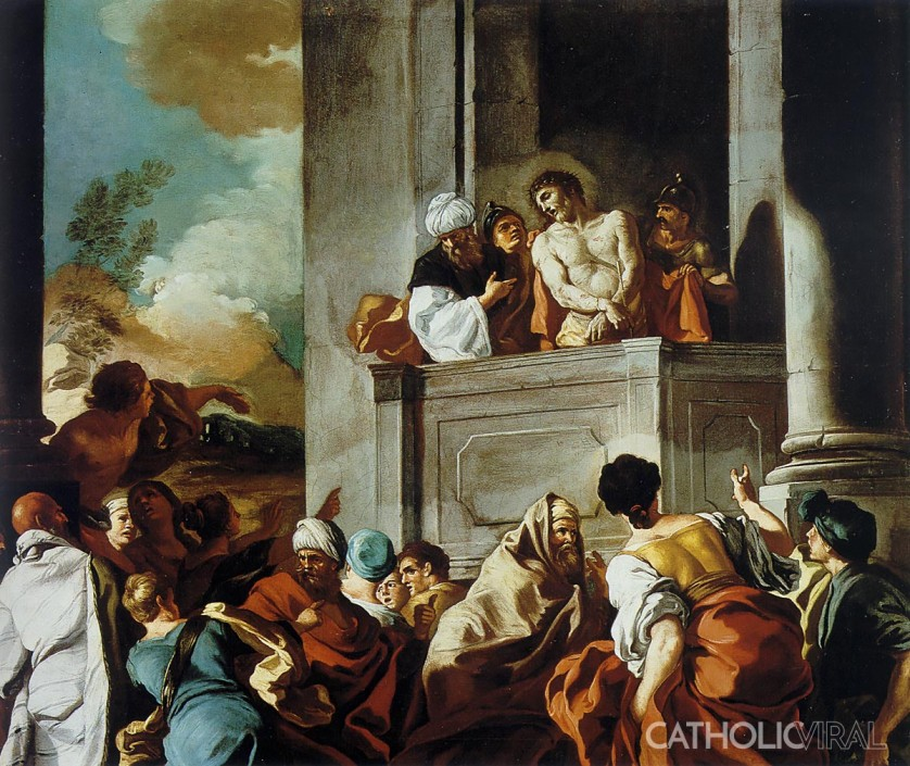 Ecce Homo - Francesco de Mura - 54 Paintings of the Passion, Death and Resurrection of Jesus Christ