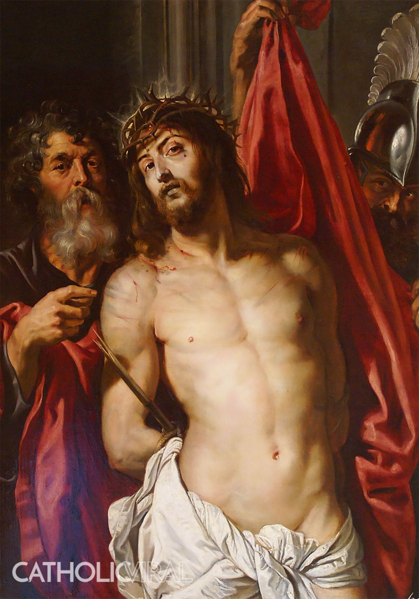 Ecce Homo - Rubens - 54 Paintings of the Passion, Death and Resurrection of Jesus Christ