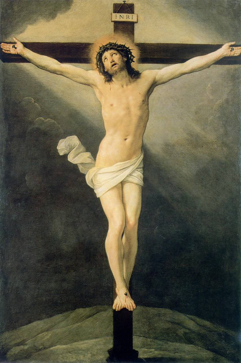 The Crucifixion - Guido Reni - 54 Paintings of the Passion, Death and Resurrection of Jesus Christ