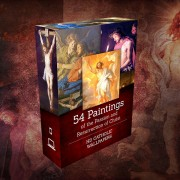 54 Paintings of the Passion, Death and Resurrection of Jesus Christ